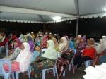 Ramai yang hadir adalah warga emas,yang ingin tahu usaha kerajaan negeri Selangor